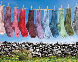 Donegal Socks Clothes Line